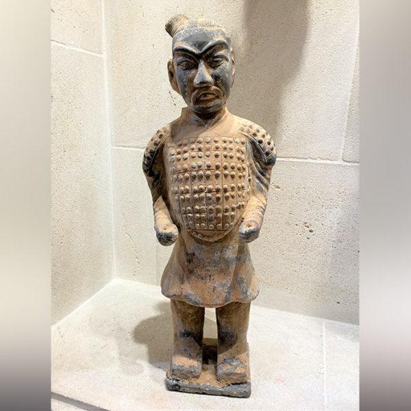 Statue chinoise en terre cuite - Guerrier de XIAN