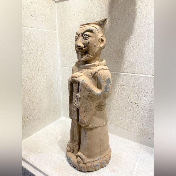 Statue chinoise en terre cuite - Soldat de XIAN